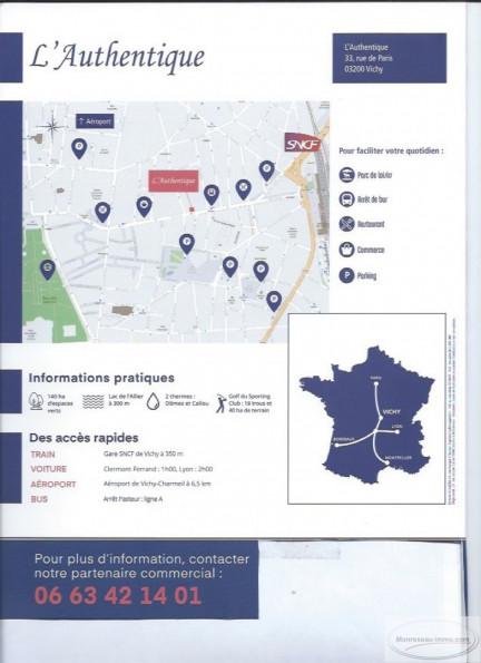 A vendre Vichy 060079228 Monreseau-immo.com