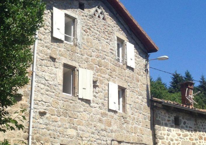 A vendre Maison en pierre Le Cheylard | R�f 0700653999 - Cif ardeche