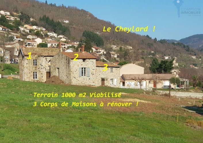 A vendre Remise en pierre Le Cheylard | R�f 0700660540 - Cif ardeche