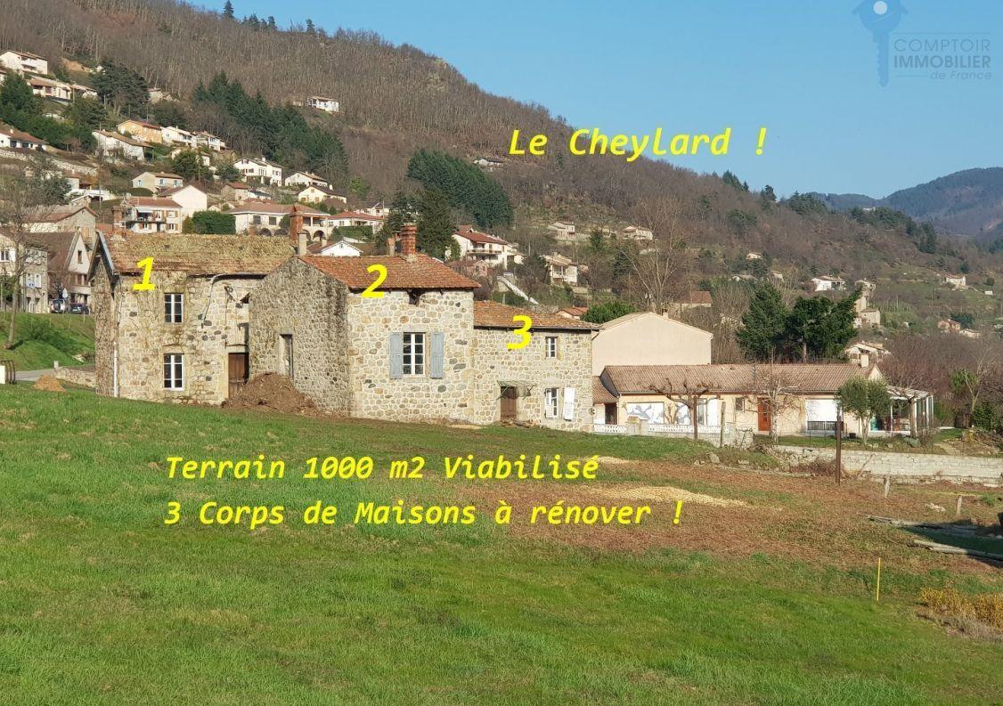 A vendre Remise en pierre Le Cheylard | R�f 0700660540 - Comptoir immobilier de france