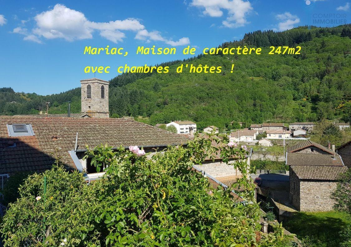 A vendre Maison de caract�re Le Cheylard   R�f 0700663276 - Comptoir immobilier de france