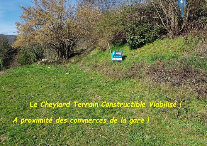 A vendre Terrain Le Cheylard | R�f 3438038195 - Cif ardeche