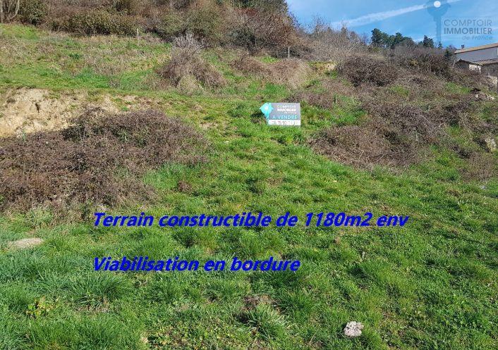 A vendre Terrain Le Cheylard | R�f 3438048905 - Cif ardeche