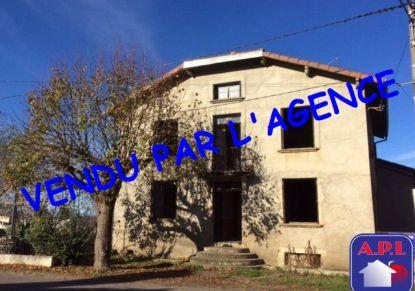 A vendre Maison de village Sainte Croix Volvestre | Réf 0900413321 - Agence api