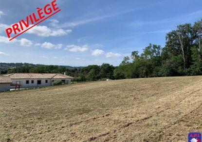 A vendre Terrain constructible L'isle En Dodon | Réf 0900414244 - Agence api