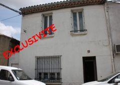 A vendre Maison de ville Lezignan Corbieres | Réf 110103993 - L'@gence lezignan