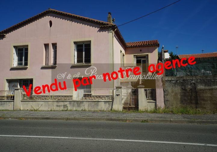 A vendre Maison � r�nover Trebes   R�f 110111758 - A&s peronne