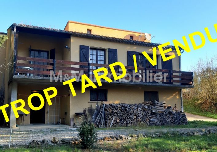 A vendre Maison Quillan | Réf 110271390 - M&m immobilier