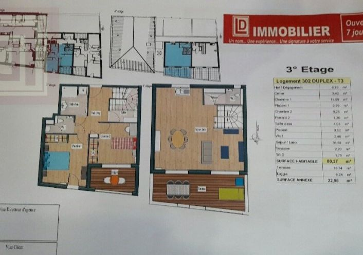 A vendre Narbonne 11031904 Ld immobilier