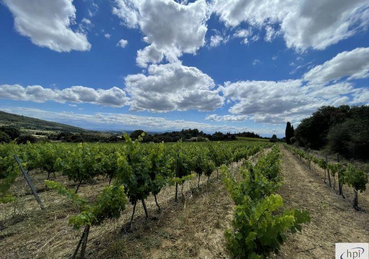 A vendre Terrain viticole Olonzac | Réf 120062426 - Hubert peyrottes immobilier
