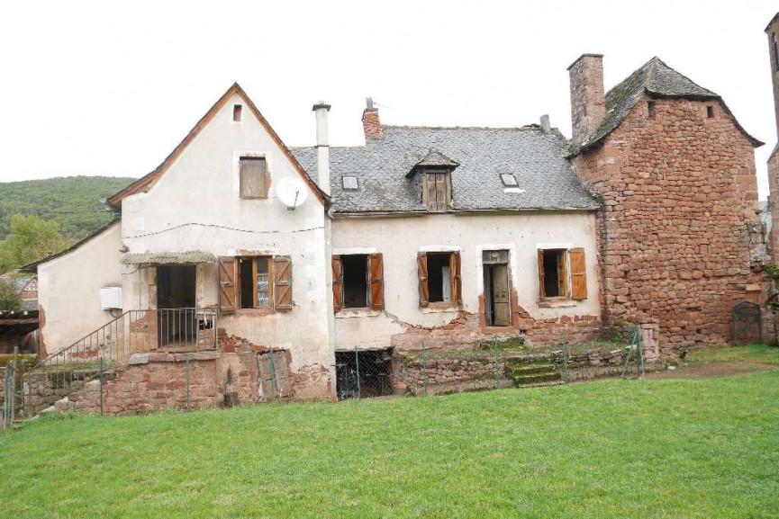 vente maison saint christophe vallon