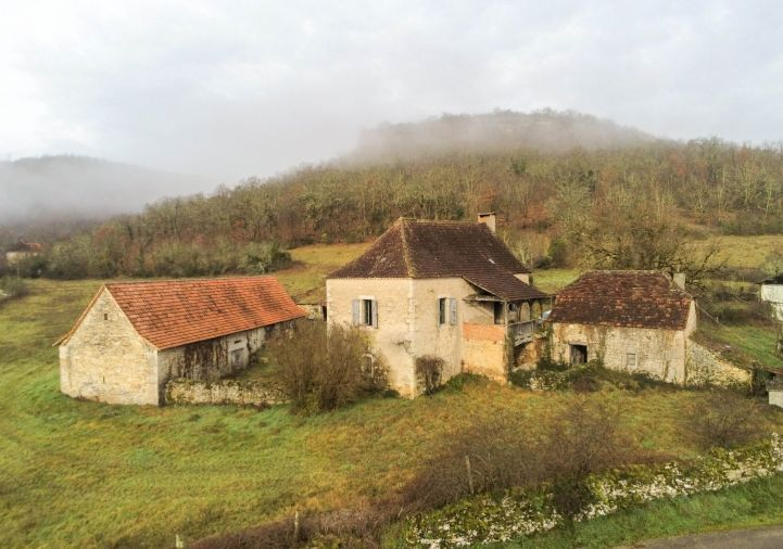 A vendre Corps de ferme Brengues | Réf 1201045043 - Selection habitat
