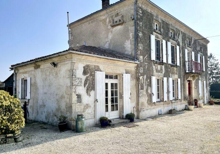 A vendre Maison de caract�re Chef Boutonne | R�f 1201845274 - Selection habitat