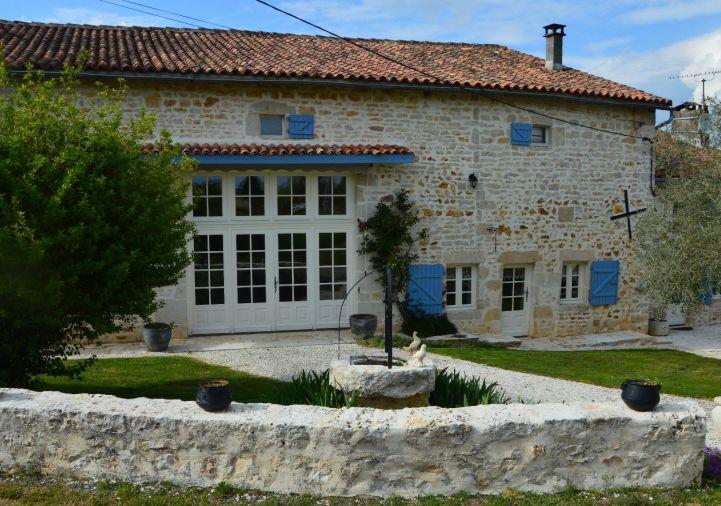 A vendre Maison de caractère Nanteuil En Vallee | Réf 1201845612 - Selection habitat