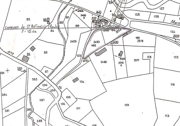 For sale Terrain constructible Saint Antonin Noble Val | R�f 1202345813 - Selection habitat