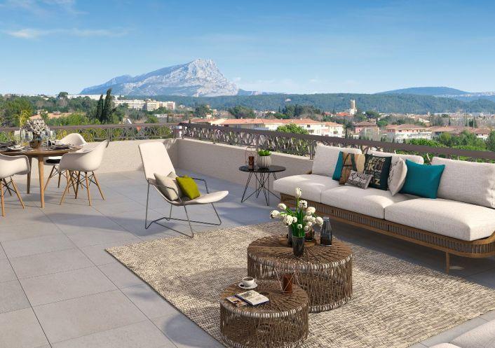 A vendre Appartement neuf Aix En Provence   Réf 1303341 - Espace en travaux
