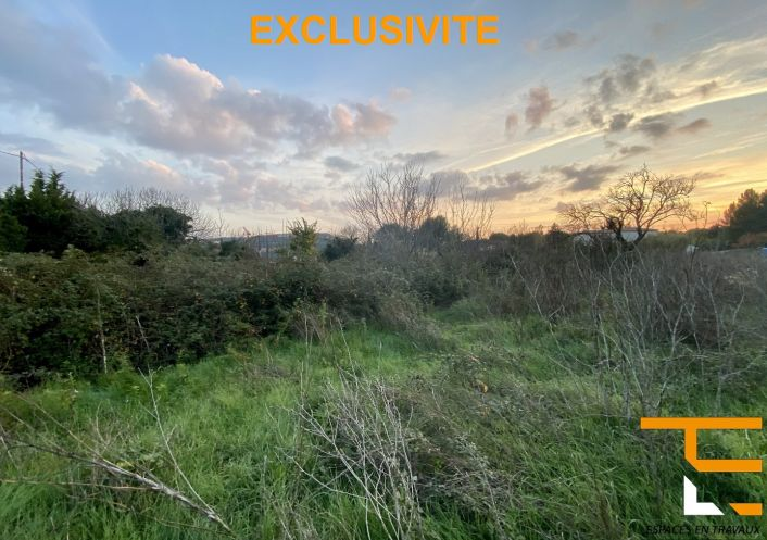 A vendre Terrain constructible Ventabren | Réf 1303368 - Espace en travaux