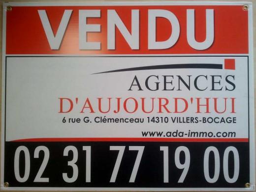 A vendre Villers Bocage 14006997 Agences d'aujourd'hui