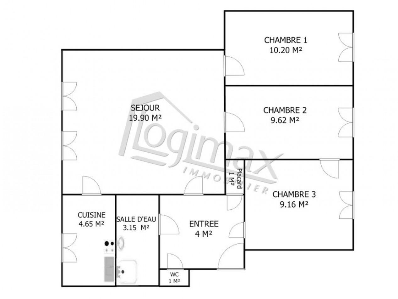 A vendre  La Rochelle   Réf 170037283 - Logimax