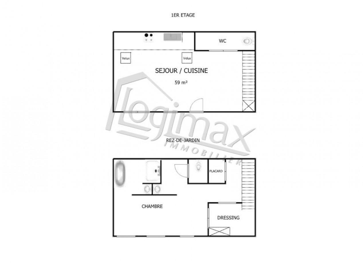 A vendre  La Rochelle   Réf 170037641 - Logimax