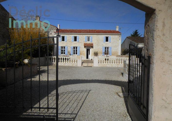 A vendre Maison de campagne Romegoux | Réf 1700613537 - Déclic immo 17