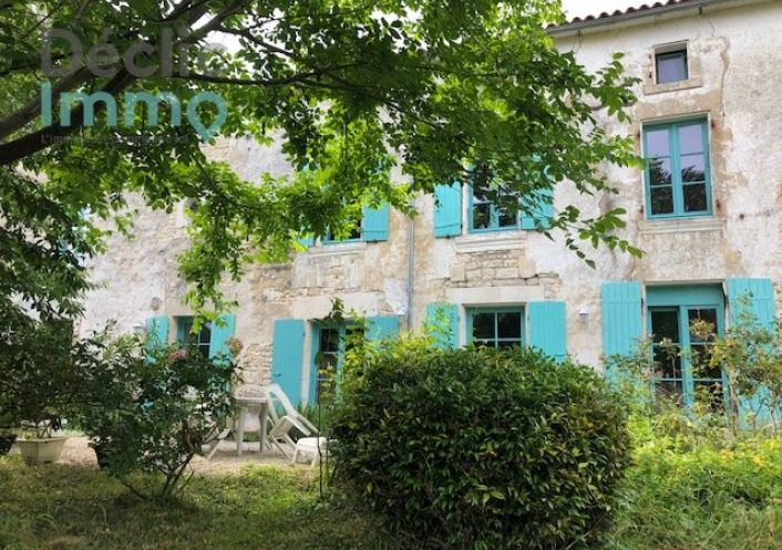 A vendre Maison Marsais   Réf 1700613910 - Déclic immo 17