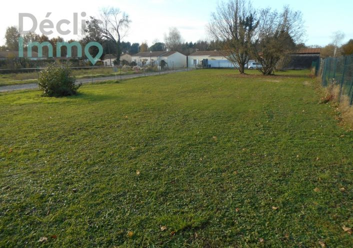 A vendre Terrain constructible Saint Porchaire | Réf 1700614086 - Déclic immo 17