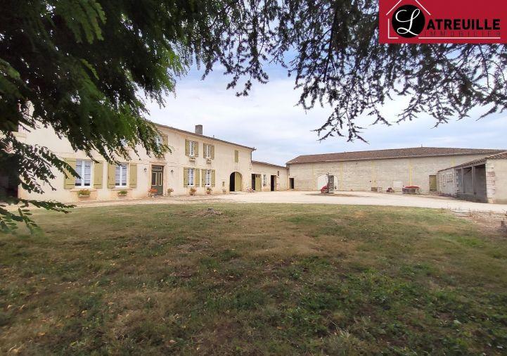 A vendre Corps de ferme Gemozac | R�f 1701113 - Latreuille immobilier
