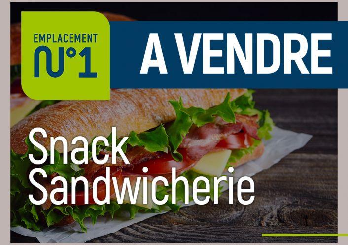 A vendre Snack Ajaccio | Réf 200052496 - Emplacement numéro 1