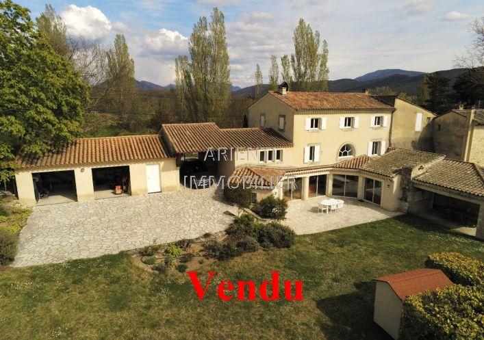 A vendre Mas Le Poet Laval   Réf 260013568 - Office immobilier arienti
