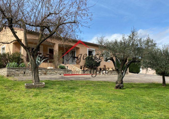 A vendre Villa Gagnieres | Réf 300071447 - Agence vigne
