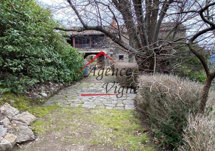 For sale Maison en pierre Malbosc | Réf 300071457 - Agence vigne