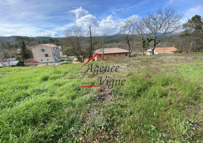 A vendre Terrain constructible Gagnieres | Réf 30007501 - Agence vigne