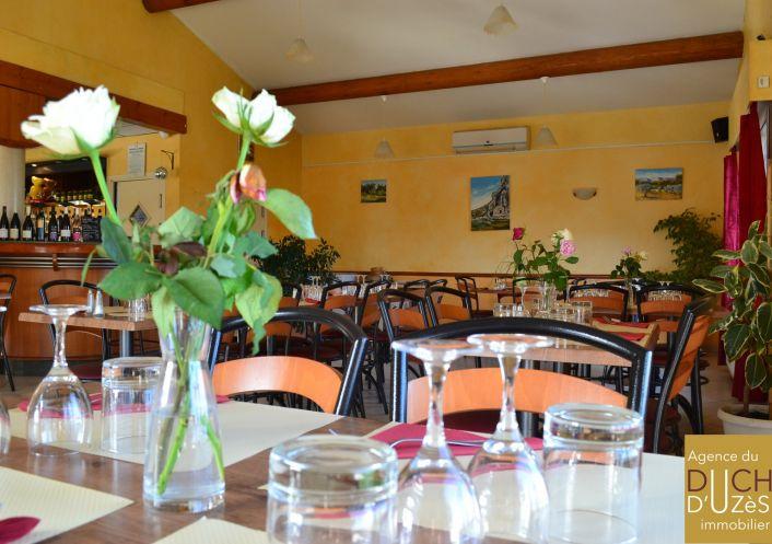 A vendre Café   restaurant Uzes | Réf 301225981 - Agence du duché d'uzès