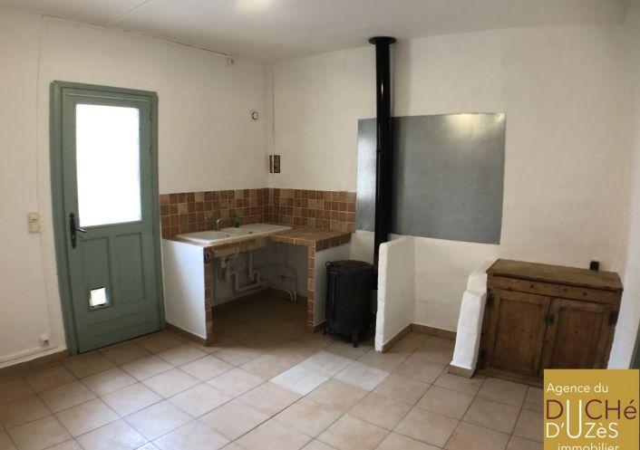 A vendre Maison de village Saint Quentin La Poterie | Réf 301226002 - Agence du duché d'uzès