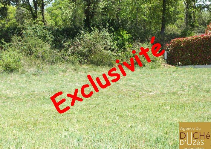 A vendre Terrain constructible Saint Maximin | Réf 301226069 - Agence du duché d'uzès