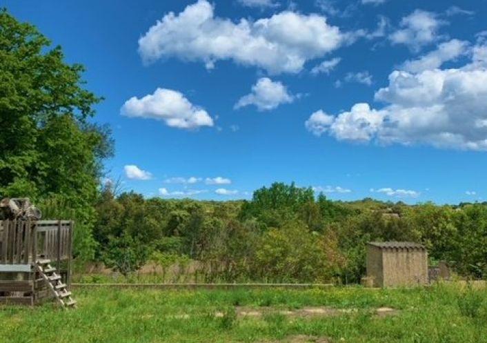A vendre Terrain constructible Pouzilhac | Réf 301226131 - Agence du duché d'uzès