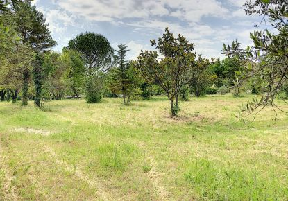 A vendre Terrain constructible Barjac | Réf 30135807 - Agence les 3 moulins
