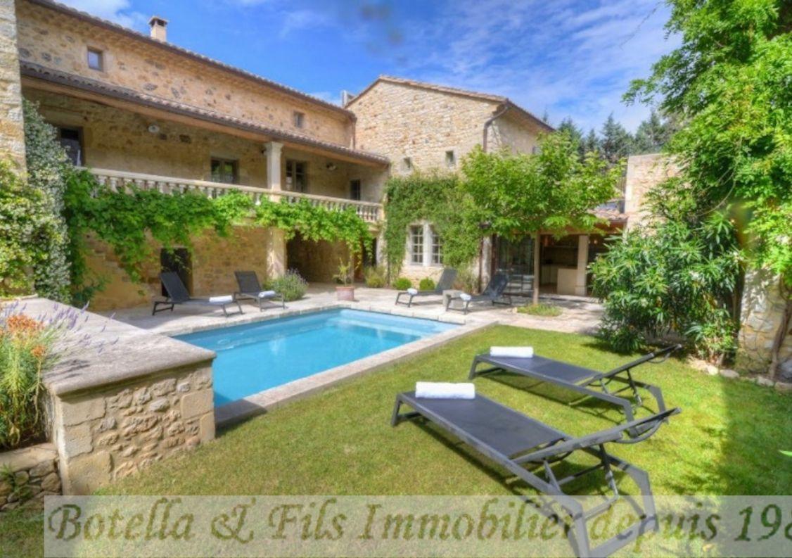A vendre Demeure de ville et village Uzes | R�f 3014734343 - Botella et fils immobilier prestige