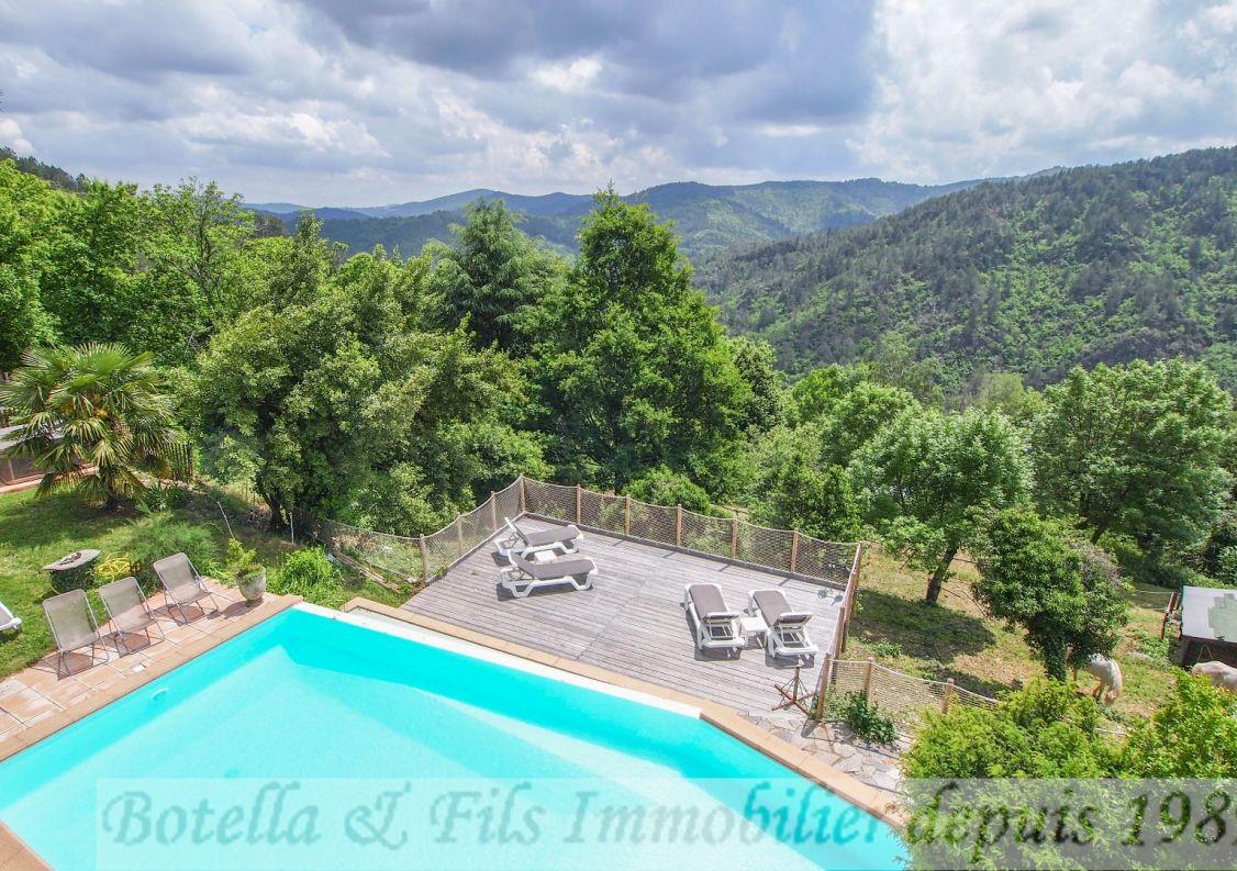 A vendre Mas Les Vans | Réf 3014734436 - Botella et fils immobilier prestige