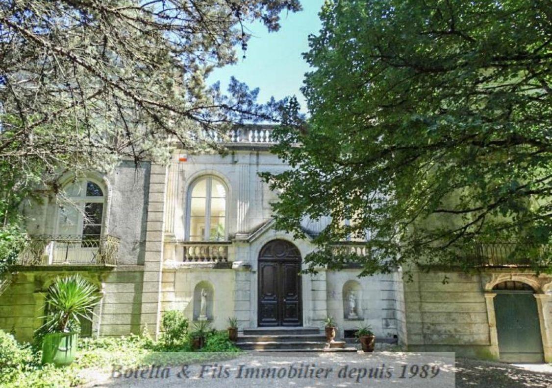 A vendre Château Barjac | Réf 3014734499 - Botella et fils immobilier prestige