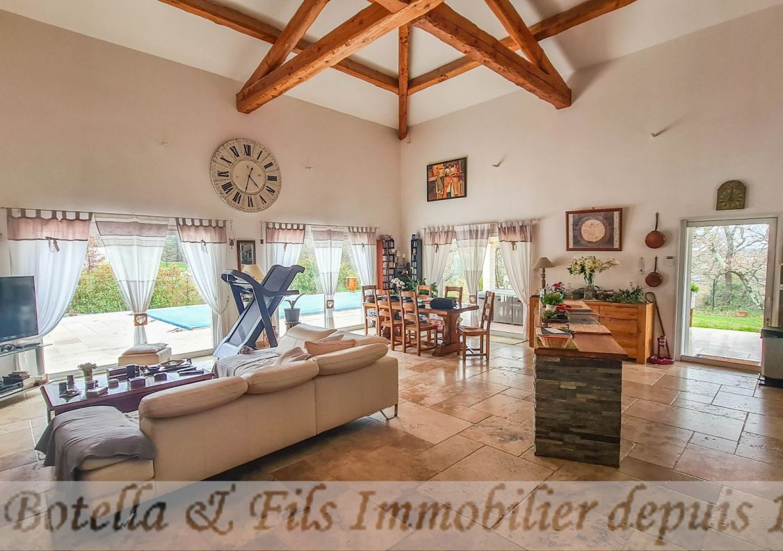 A vendre Maison contemporaine Barjac | R�f 3014734529 - Botella et fils immobilier prestige