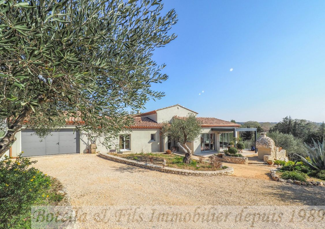 A vendre Maison contemporaine Uzes | Réf 3014734545 - Botella et fils immobilier prestige