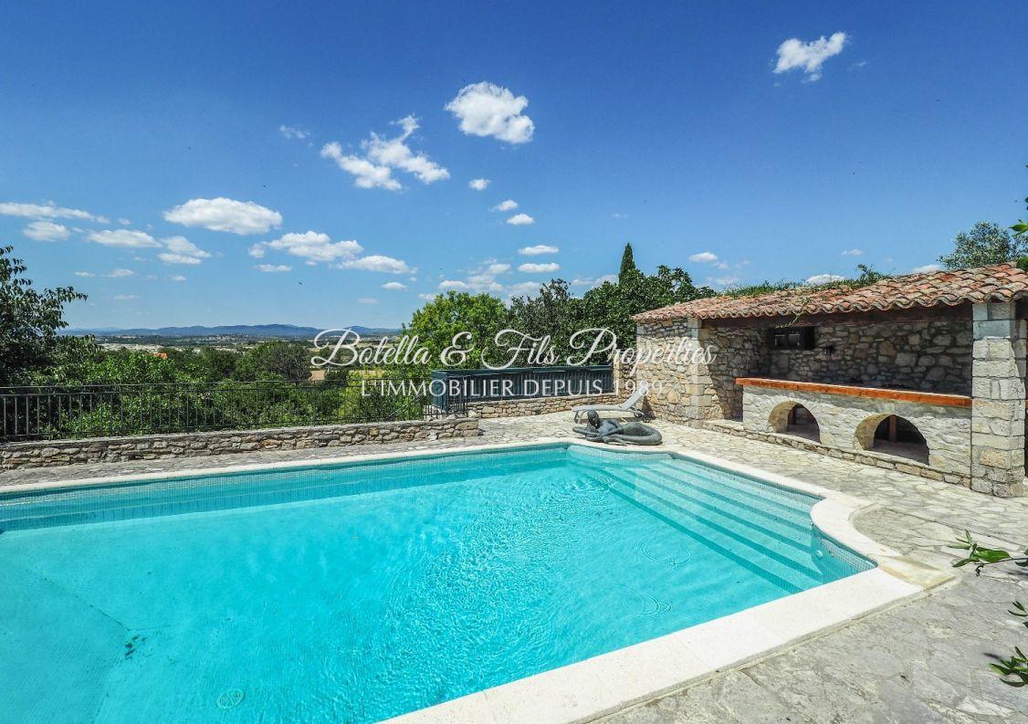 A vendre Demeure de ville et village Barjac | Réf 3014734674 - Botella et fils immobilier prestige