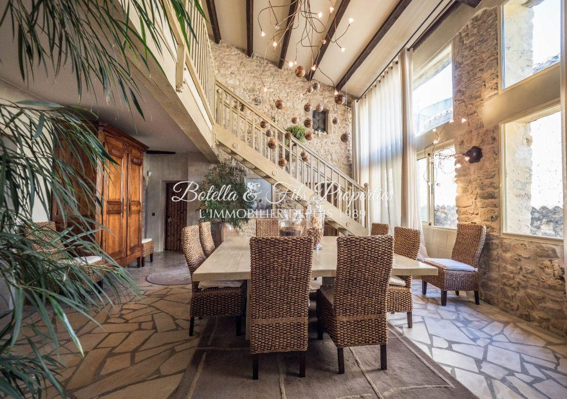 A vendre Demeure de ville et village Uzes | Réf 3014734706 - Botella et fils immobilier prestige