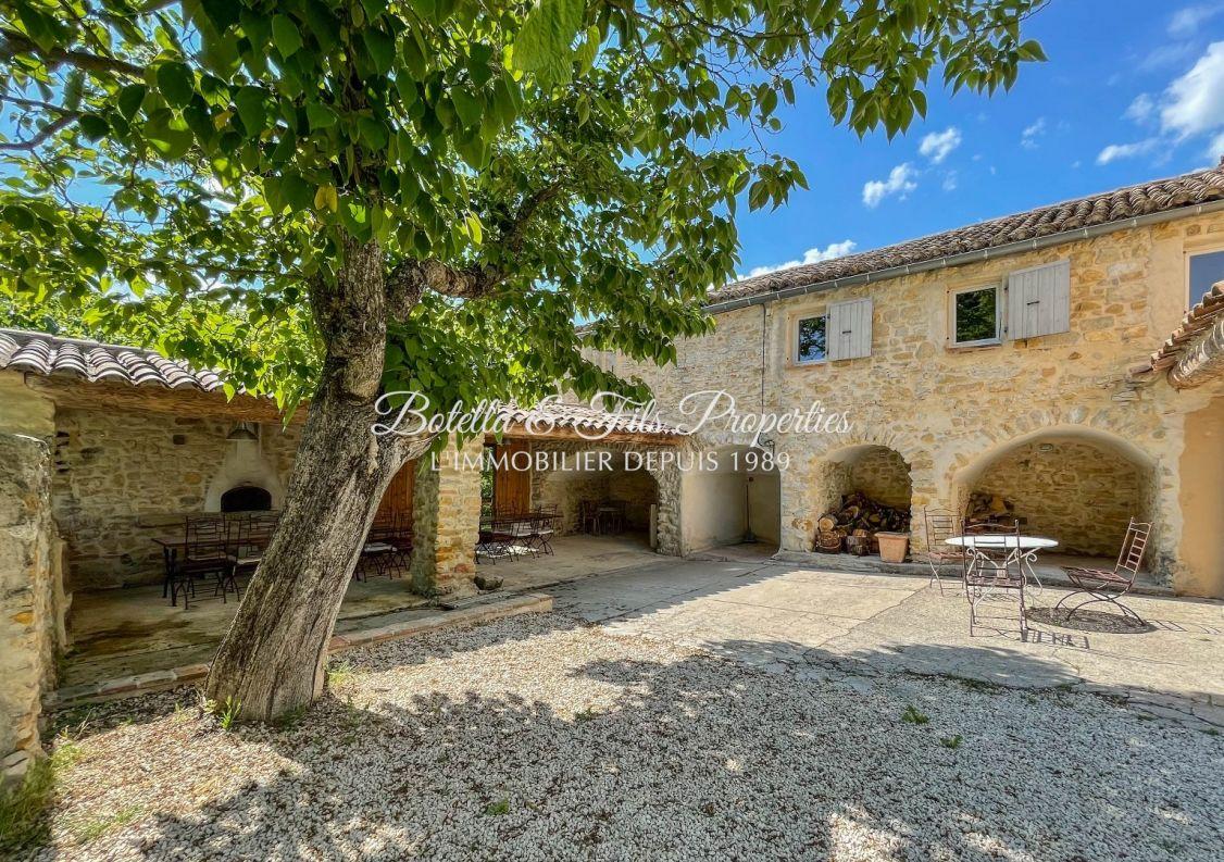 A vendre Mas Barjac | Réf 3014734711 - Botella et fils immobilier