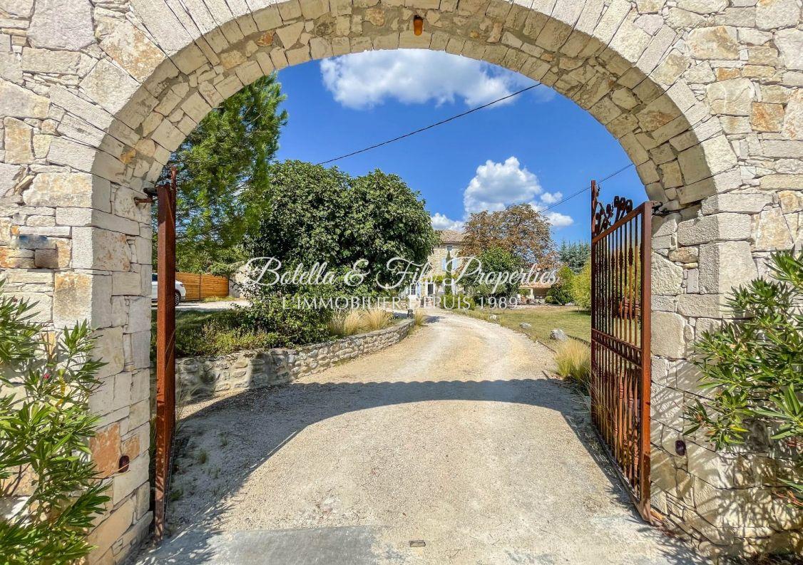 A vendre Mas Barjac | Réf 3014734816 - Botella et fils immobilier