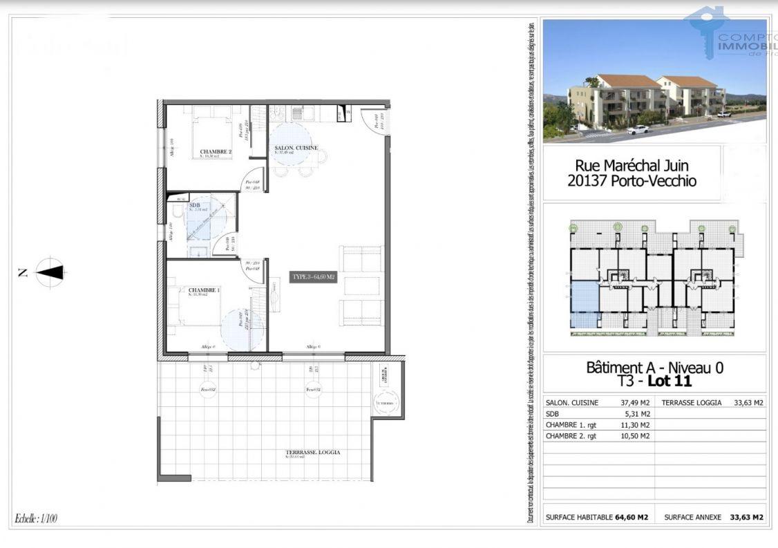 A vendre Appartement Porto Vecchio   R�f 3438027666 - Comptoir immobilier de france