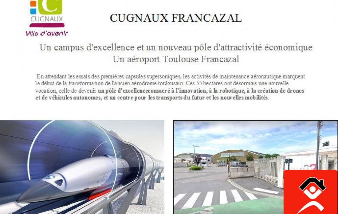 A vendre Cugnaux 3103811370 Booster immobilier
