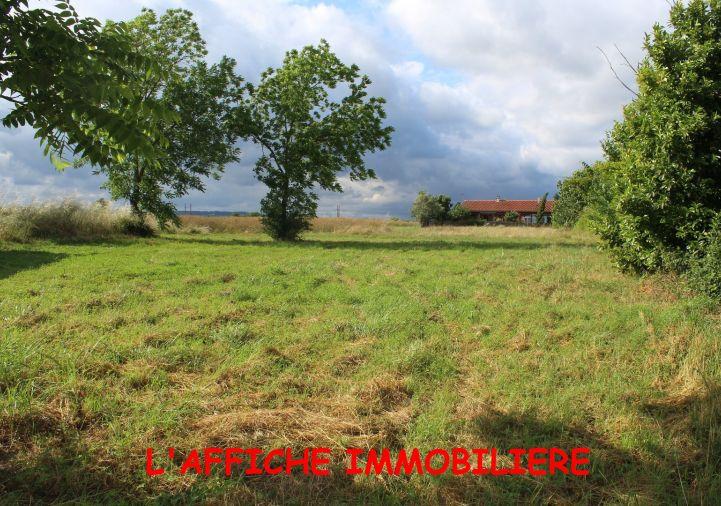 A vendre Terrain constructible Cazeres | Réf 310424516 - L'affiche immobilière